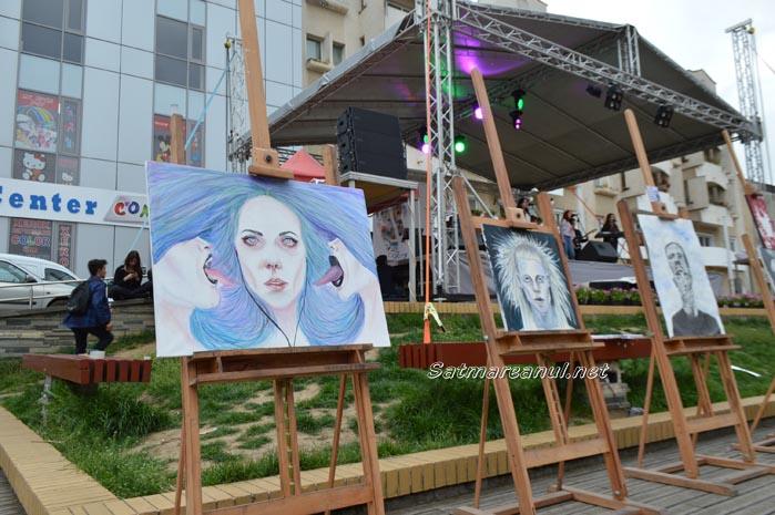 """Festival cu """"oameni faini"""" în Centrul Nou (Foto&Video)"""