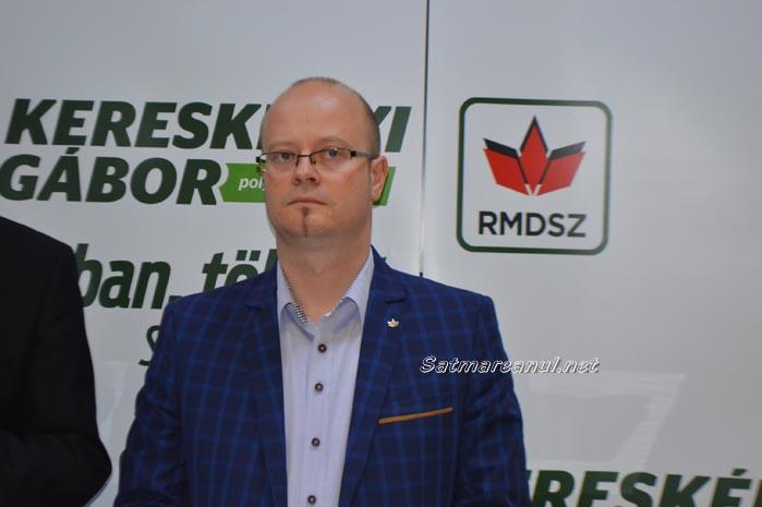 """Kereskenyi Gabor: """"Sătmărenii își doresc un oraș în care domină ordinea și legea"""""""