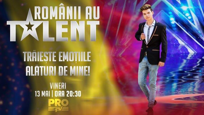 """Manuel Chivari, astăzi, la """"Românii au talent"""""""