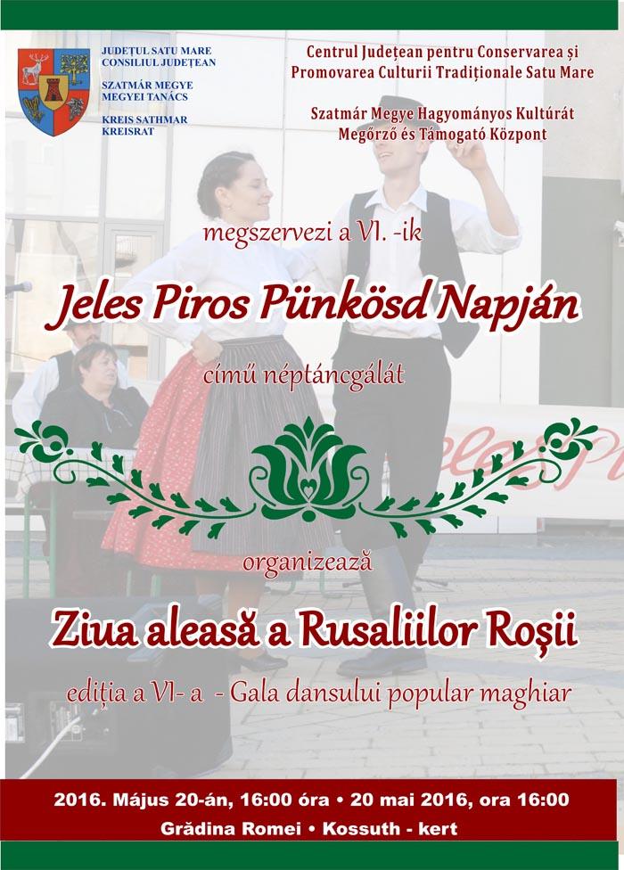 Gala dansului popular maghiar, în Grădina Romei