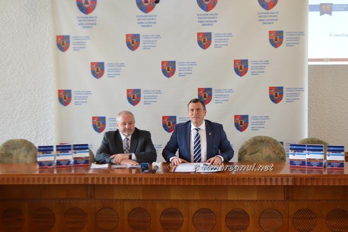 Adrian Ștef și-a prezentat bilanțul celor patru ani de mandat