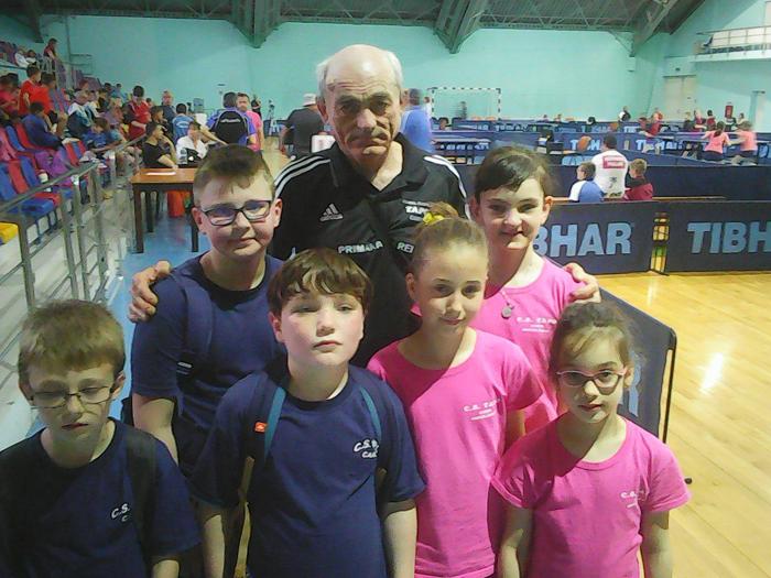 Tenis de masă: TAPO Carei la Campionatul Național de juniori