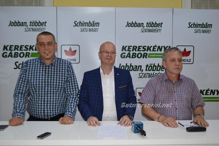 """Kereskenyi Gabor: """"Primarul s-a trezit să facă din nou scandal în ședința Consiliului Local"""""""