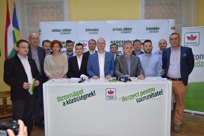 Gabor Kereskenyi și-a prezentat echipa și oferta electorală pentru Satu Mare
