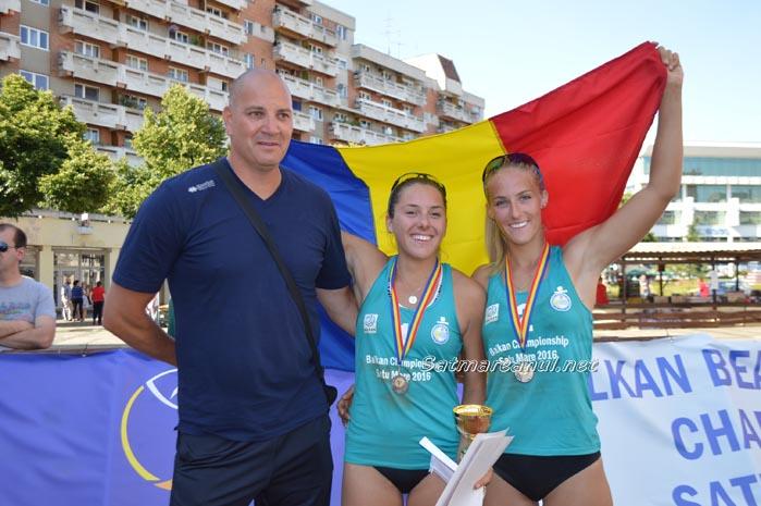 Sătmărencele au câștigat argintul la Balcaniada de beach-volley ! (Galerie foto&video)