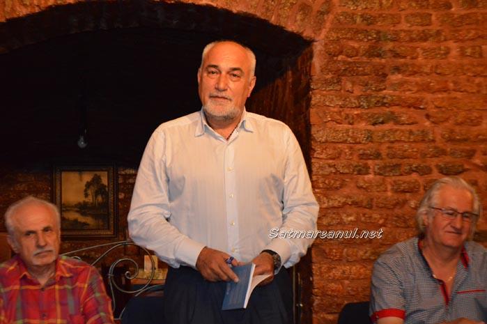 Varujan Vosganian și-a lansat ultimul volum de poezii la Satu Mare (foto&video)