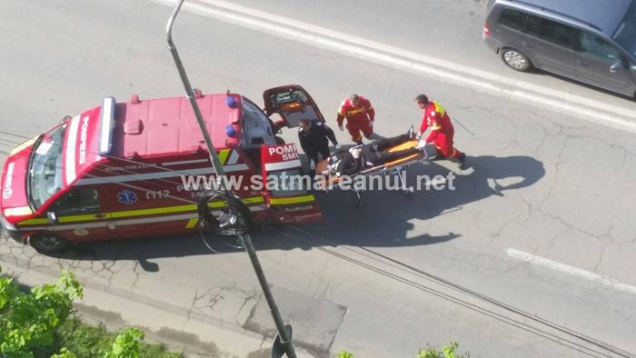 Accident cu victimă lângă Billa (Foto)