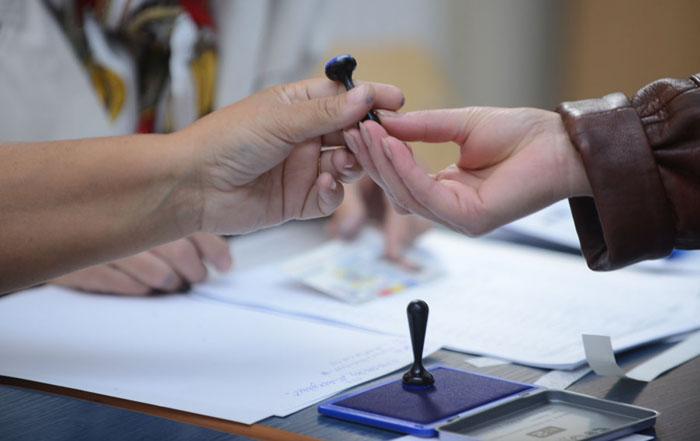 S-a tras la sorți ordinea pe buletinele de vot