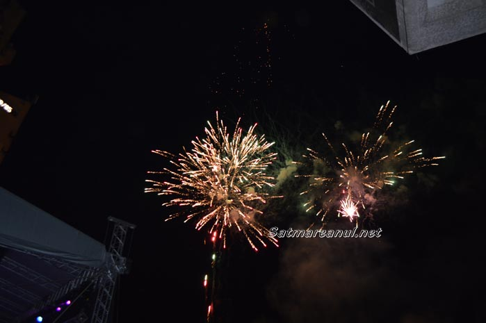 Explozie de culori pe cerul municipiului Satu Mare (foto&video)