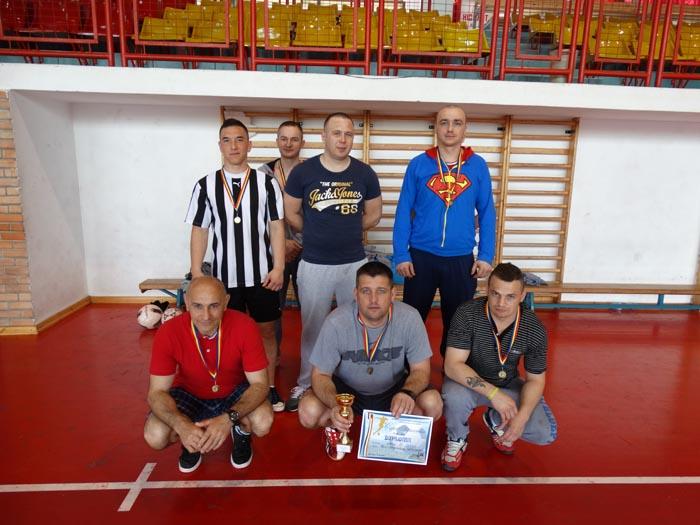 Turneu de mini-fotbal între penitenciare