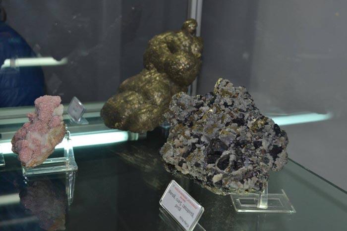 Minerale de o rară frumusețe, expuse la Muzeul Țării Oașului (Galerie foto)