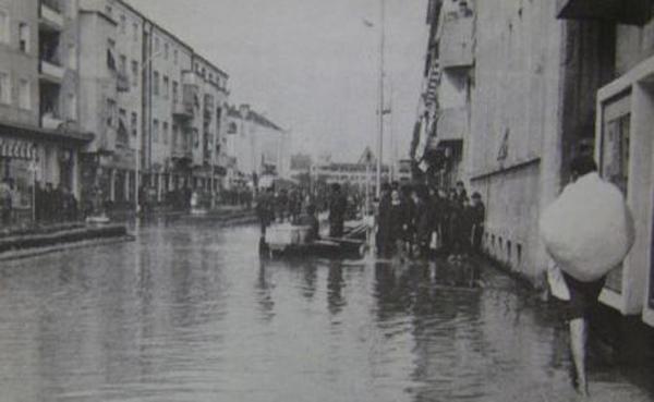 14 mai 1970 – Ziua în care Someșul a năvălit peste Satu Mare (Galerie foto)
