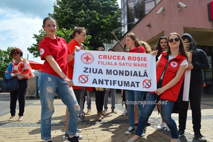 Marș antifumat la Satu Mare (Galerie foto&video)