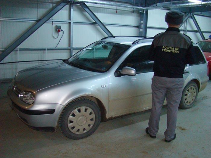 Volkswagen căutat în Ungaria, depistat la Petea