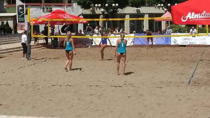România, calificată în semifinalele Balcaniadei de beach-volley
