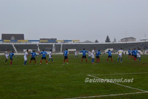 Fotbal: Unirea Tărlungeni – Olimpia Satu Mare