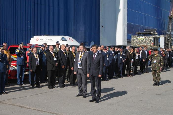 Gabriel Leș a participat la expoziția dedicată industriei aeronautice