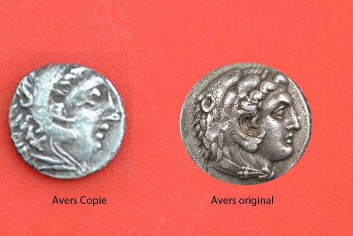 Monedă de pe vremea lui Alexandru Macedon, descoperită de arheologii sătmăreni (Foto)