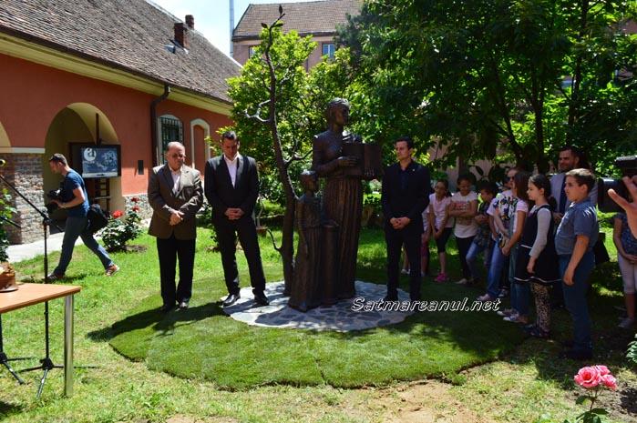 Monumentul Limbii Române, dezvelit la Satu Mare