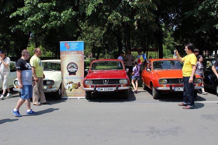 Parada mașinilor de epocă, sâmbătă, la Satu Mare
