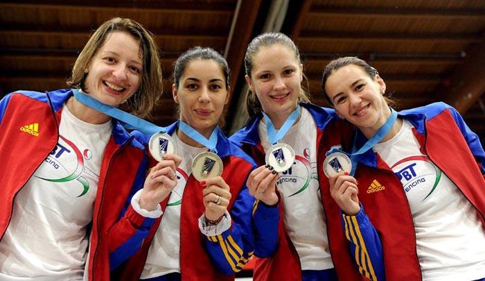 Spadă: România, cu Simona Pop în lot, medalie de argint la etapa de Cupă Mondială de la Legnano