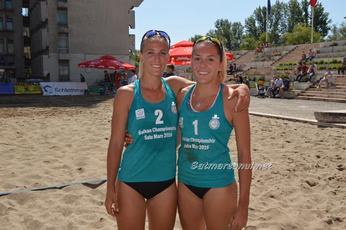 Sătmărencele s-au calificat în finala Balcaniadei de beach-volley ! (Foto)