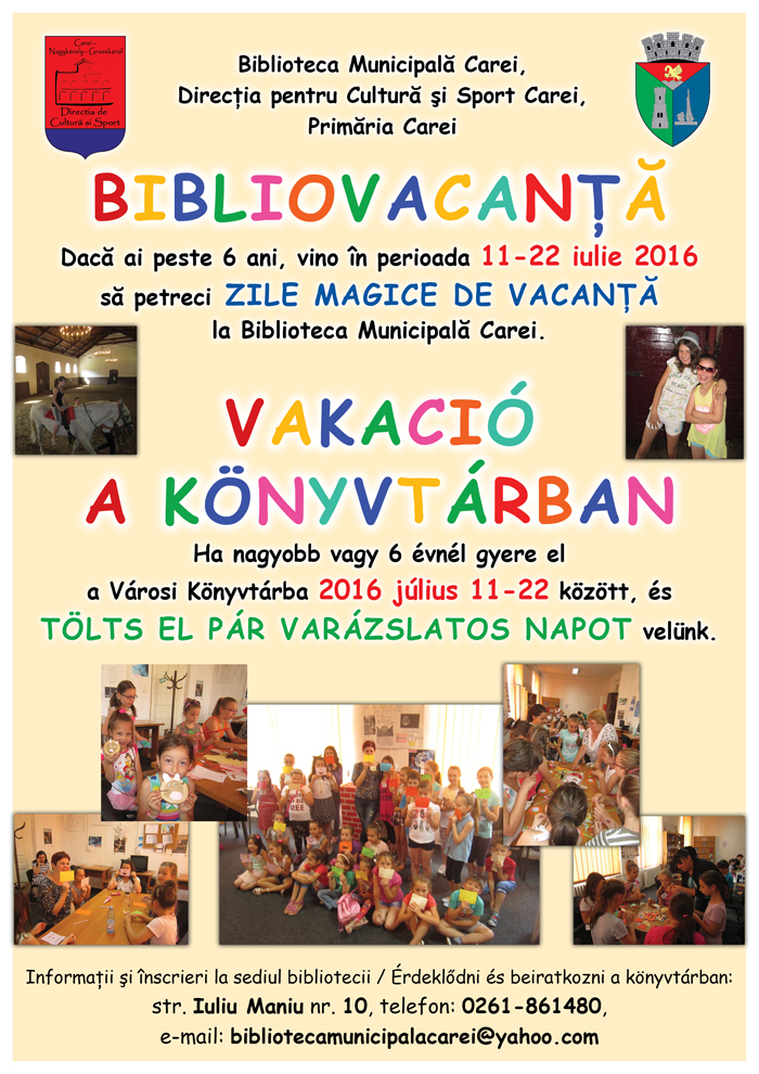 Bibliovacanța, la o nouă ediție