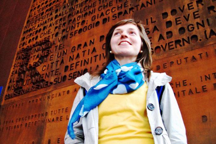 Sătmăreanca Claudia Mare, face furori în lumea literară din Italia