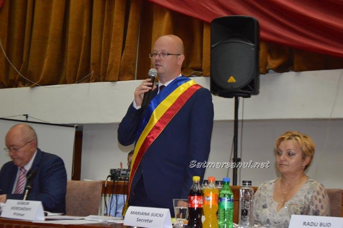 Kereskenyi Gabor a depus jurământul