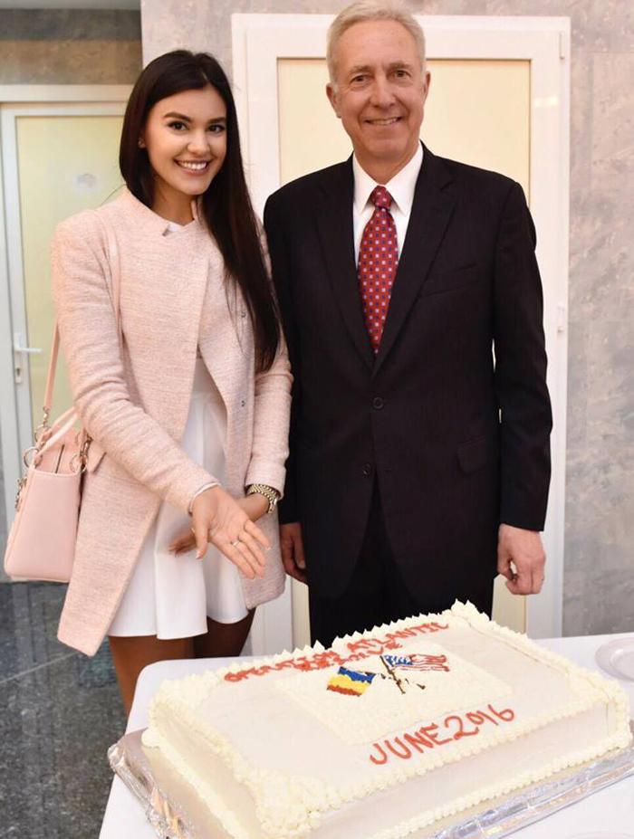 Natalia Oneț, invitata Ambasadei Statelor Unite ale Americii