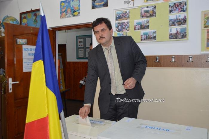 """Pataki Csaba: """"Am votat pentru schimbare"""""""