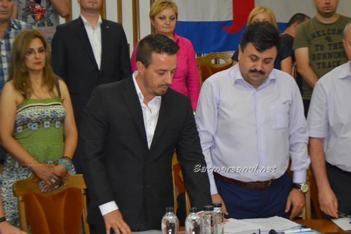 Silviu Sumlaș a depus jurământul de consilier local
