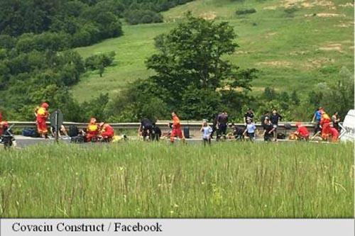 Accident cu patru morți și mai mulți răniți, în județul Brașov (Video)