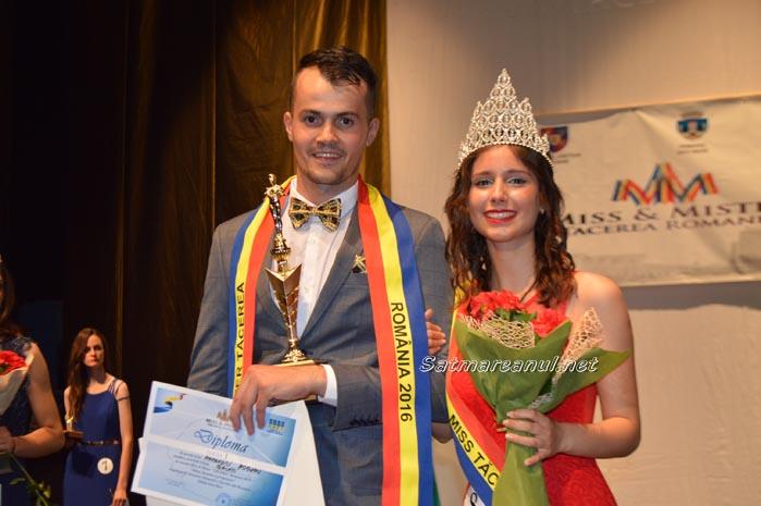 Georgiana Silion şi Bogdan Marandici, câştigătorii Miss&Mister Tăcerea 2016 (Foto)