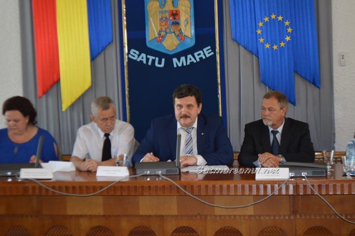 Pataki Csaba, ales președinte al Consiliului Județean