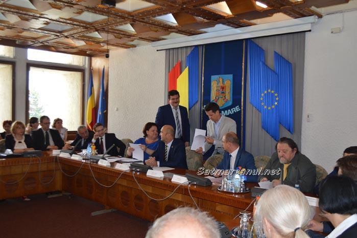 Ședința de constituire a Consiliului Județean Satu Mare