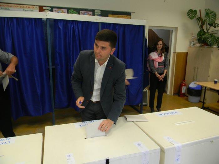 """Adrian Cozma: """"Am votat pentru un oraș de care să fiu mândru"""""""