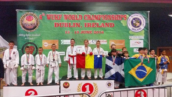 Performanță pentru CSM Satu Mare la Campionatul Mondial de karate