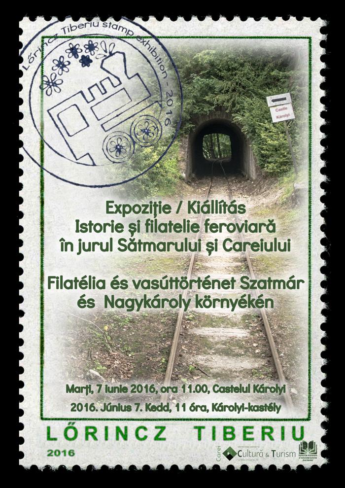 Istorie și filatelie feroviară în jurul Sătmarului și Careiului