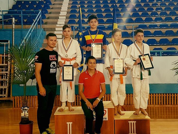 Judoka de la CS Fușle Security, vicecampion național