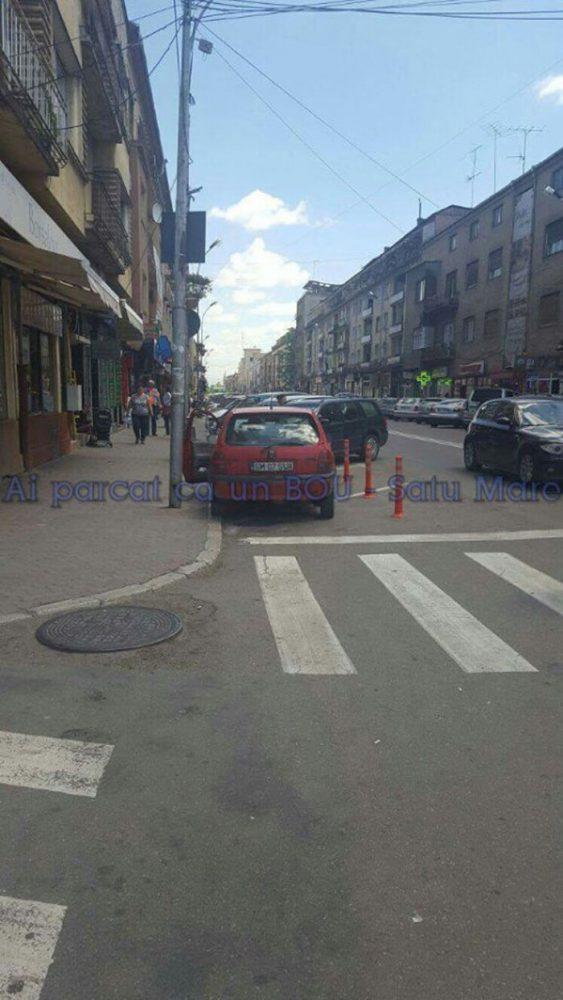 Metode noi de a parca în Satu Mare (Foto)