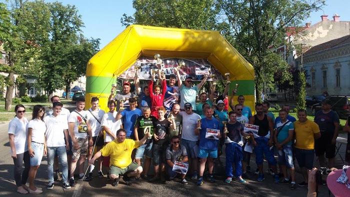 Asfalt încins și motoare turate la Campionatul Regional ACR Rally Sprint de la Carei (Foto)