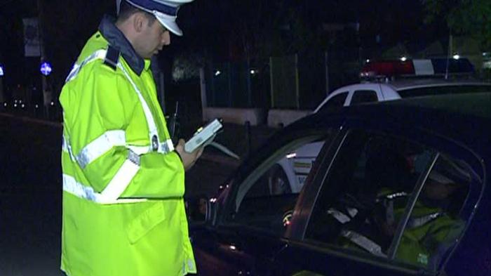 Șofer beat turtă, prins de polițiști