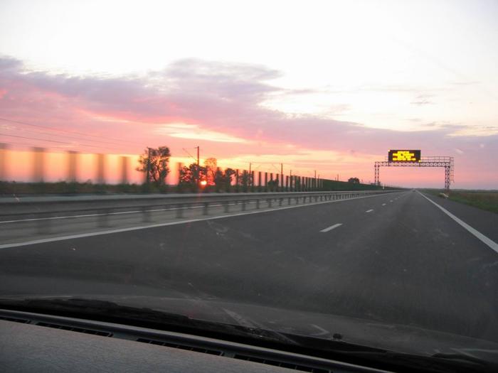 Surprins de radar când … zbura pe autostradă