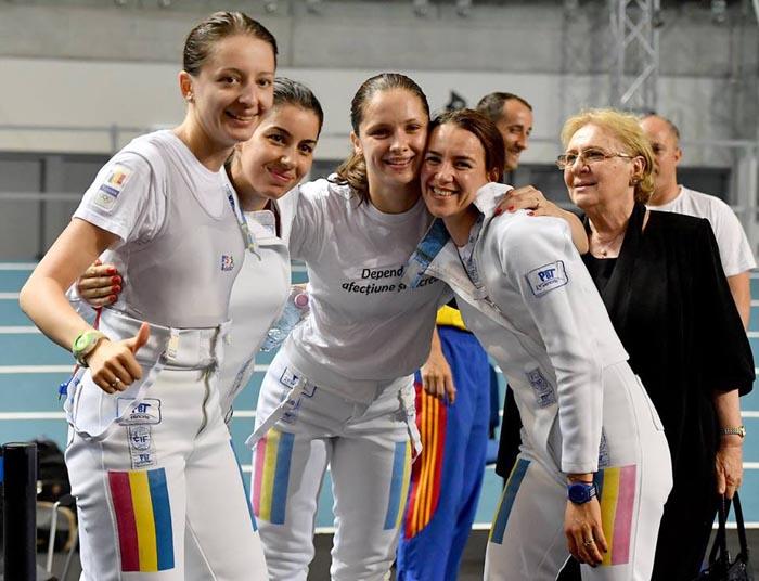Spadă feminin: Bronz pentru România la Campionatul European