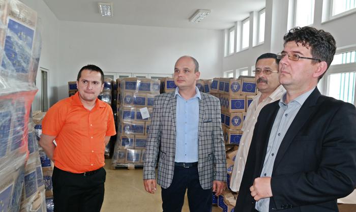 Ajutoarele alimentare de la UE vor fi distribuite în județ