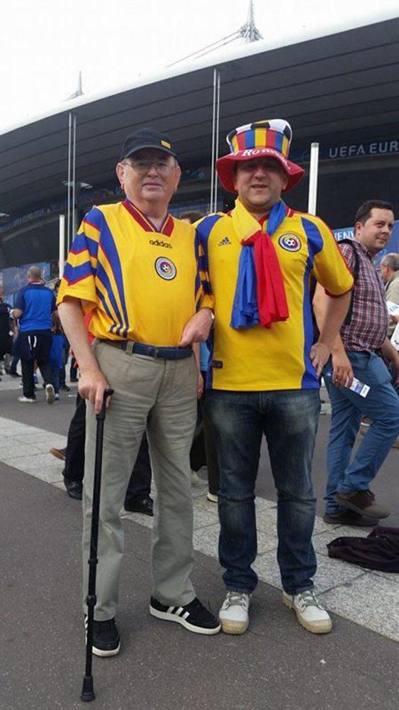 Un sătmărean de 77 de ani, printre veteranii suporterilor de pe Stade de France