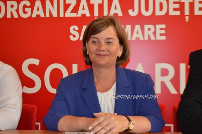 Aurelia Fedorca este noul președinte al PSD Satu Mare (Video)