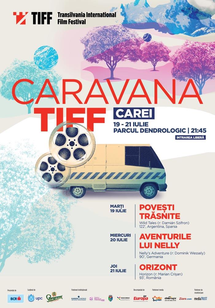 Caravana Filmelor TIFF pornește de la Carei
