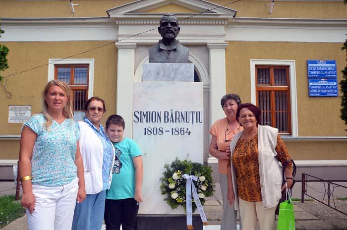Simion Bărnuțiu a fost comemorat la Carei